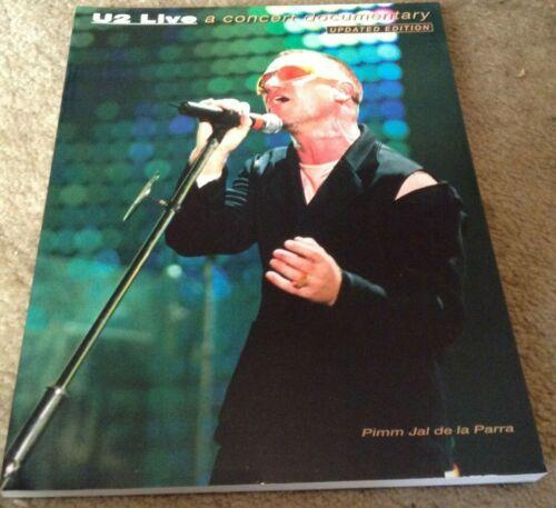 U2 LIVE-A CONCERT DOCUMENTARY 1994 BRITISH PRESS NEW updated