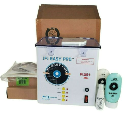 JFJ Easy Pro Disc Repair Machine Kit W/ Buffing Compound Sanding Pads
