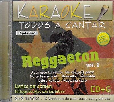 Daddy Yankee Nicky Jam Don Omar Ivy Queen Reggaeton Vol 2 Karaoke New Sealed