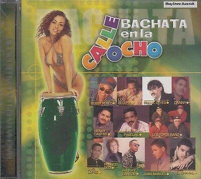 Los Toros Band Pascual Luis Lopez Bachata En La Calle Ocho CD New Sealed (Bachata En La Calle)