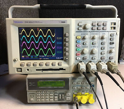 Tektronix Tds3054 4 Ch Dpo Oscilloscope 500mhz 5gsas New Lcd Options