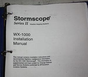 Wx 10 storm Manual