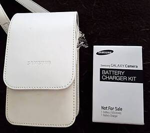 Leather case and battery for the Samsung Galaxy EK-GC100 camera Halekulani Wyong Area Preview