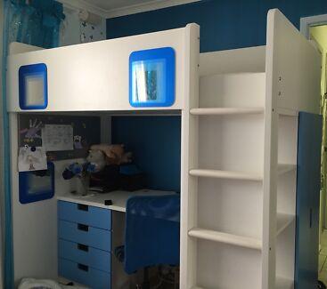 IKEA Stuva Loft Bed / Desk
