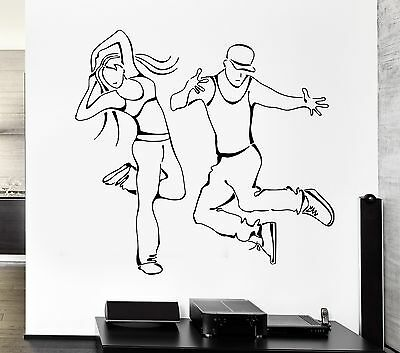 Wall Decal Dance Street Dancing Urban Art For Living Room