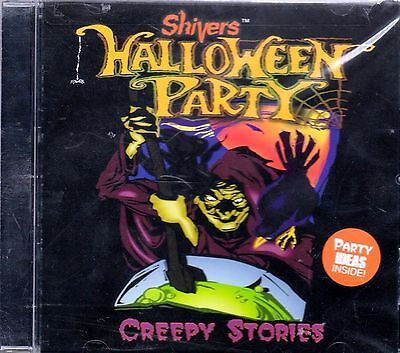 Shivers CREEPY STORIES: KIDS HALLOWEEN PARTY SOUNDS & TALES CD (1996) PETER - Creepy Children Halloween Music