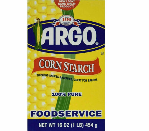Argo Corn Starch 16 oz  x 23 Pack - Great for Backing Bakery Food Service