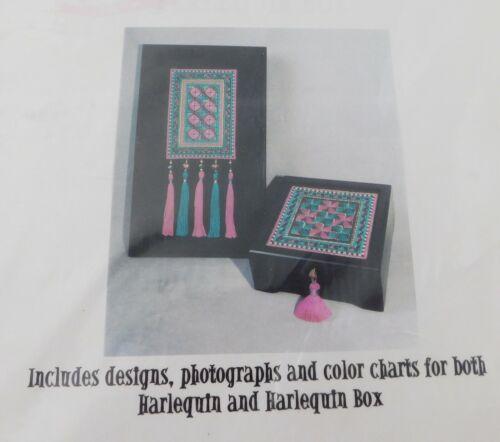 Anna Marie Winter Needlepoint Pattern, Harlequin & Box
