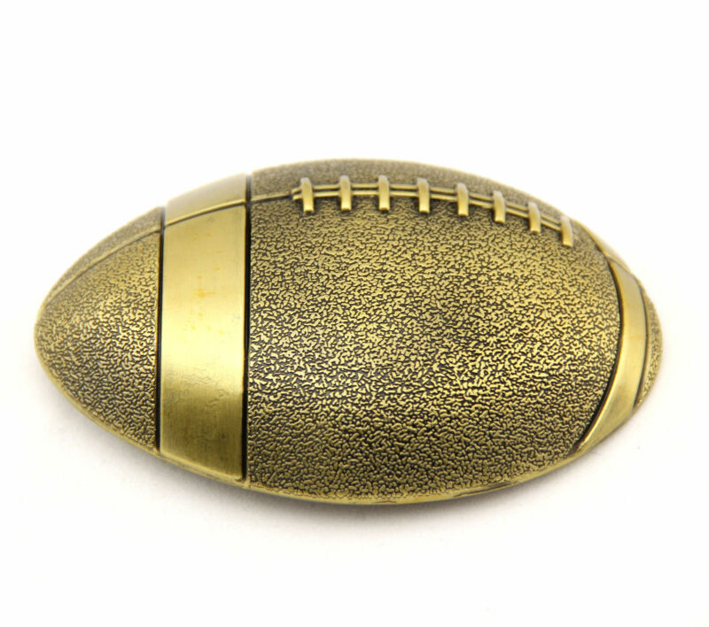Bronze Football Metal Fashion Belt Buckle