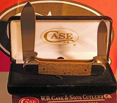 CASE XX 2020 EXOTIC NATURAL GIRAFFE BONE CANOE KNIFE KNIVES NEW