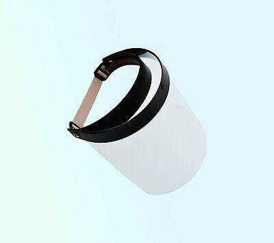 Gesichtsmaske Visier Spuckschutz für Ärzte u. Brillenträger Gummizug klappbar