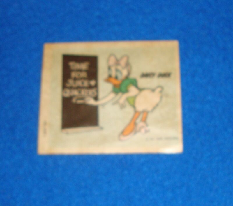 Vintage Disney Daisy Duck Sticker Unused