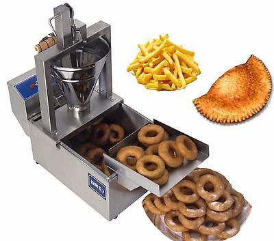 New Electrical 3 In 1 Donut Fryer Machine 120 Pcsh 220v Commercial Or Home Use