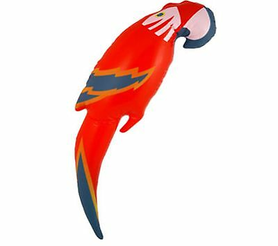 Inflatable Blow Up Parrot Fancy Dress Costume Accessory Pirate Hawaiian 48CM