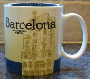NWT Starbucks BARCELONA Spain Global Icon City Collector Series Mug with SKU