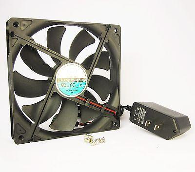 140mm 25mm New AC Fan Kit 110V 115V 120VAC 154CFM Cooling Ball Bg Cabinet 1411*