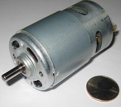 100 Watt Electric 12 Vdc Motor W Fan - 15000 Rpm - 775 Frame Size Robot Hi Rpm
