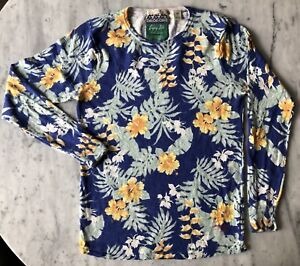 Scotch And Soda Forest Blue Sweater - Size S