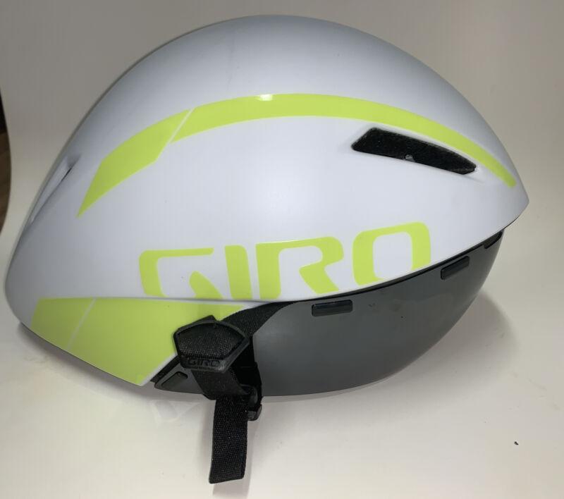 Giro Aerohead MIPS Helmet - Matte White / Citron - Size Small