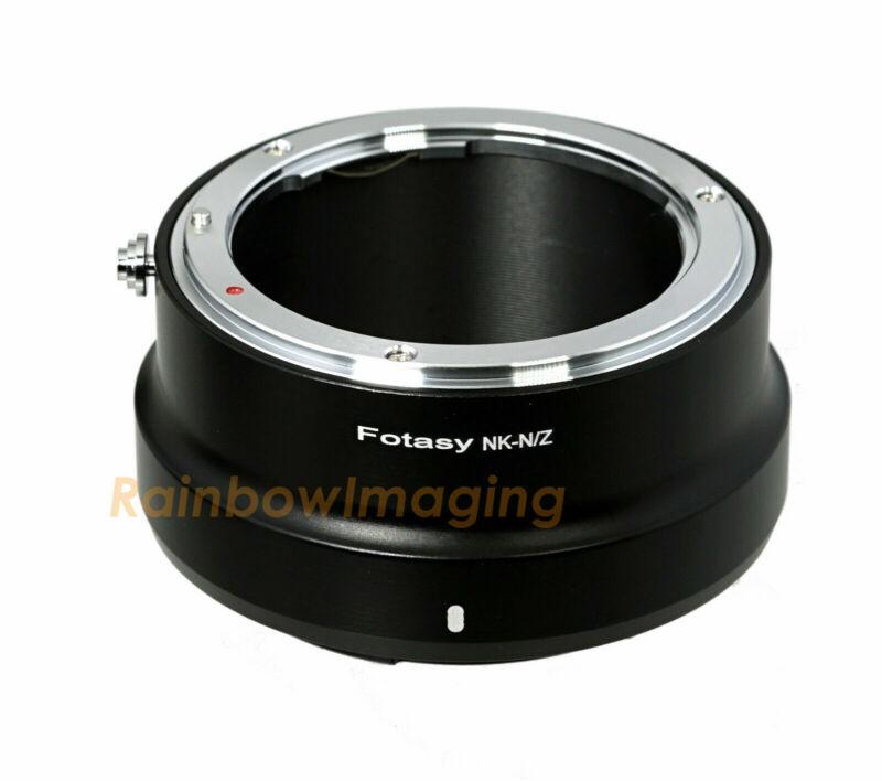 Nikon F Mount Lens to Nikon Z5 Z50 Z5 Z6 Z7 Z6II Z7II Mirrorless Camera Adapter