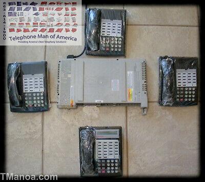 Avaya Lucent Att Partner Acs Business Phone System 1 Display 3 Nondisplay Phone