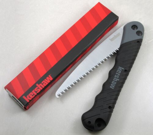 "Kershaw 2555 Taskmaster Folding Saw, 7"" Satin Blade, Push Button Lock, NEW Boxed"