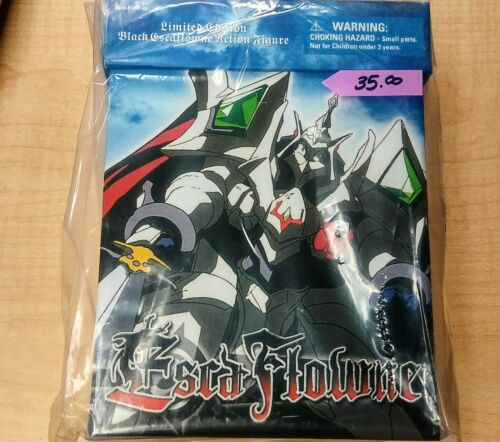 Escaflowne - Black Escaflowne Limited Ed - NEW