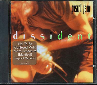Pearl Jam - Dissident (CD, EP, Jun-1995, Epic)