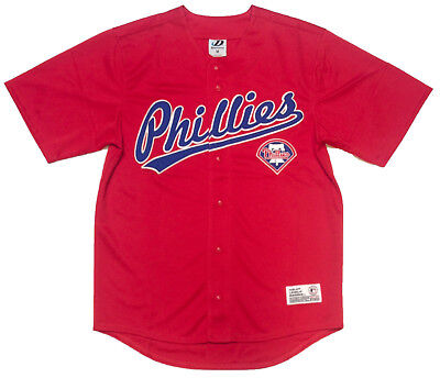 Philadelphia Phillies Replica Plain Batting Jersey Size L