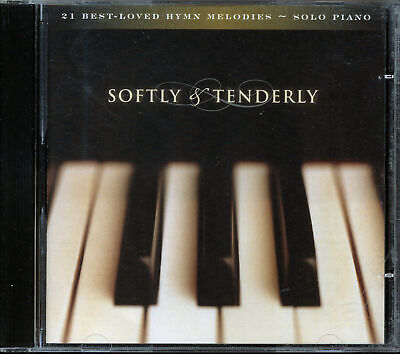 Softly and Tenderly: 21 Best-Loved Hymn Melodies - Solo Piano (CD,