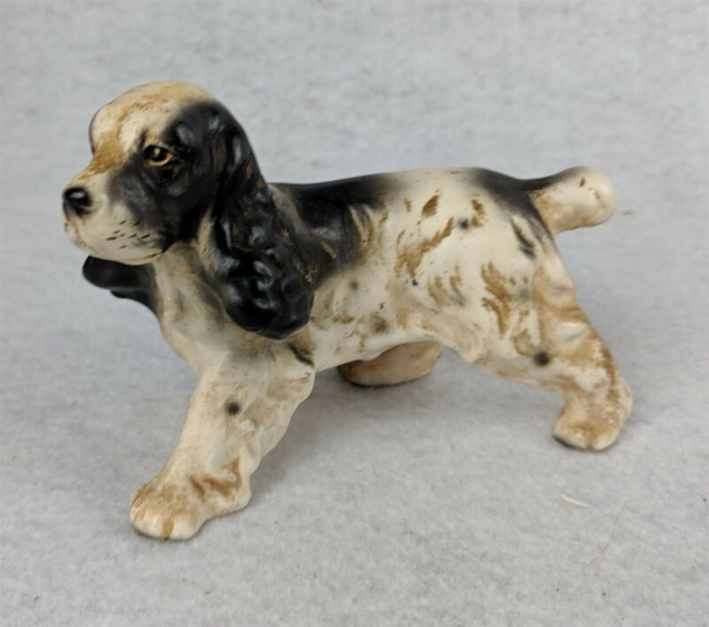 Collectible English Springer Spaniel Figurine Japan