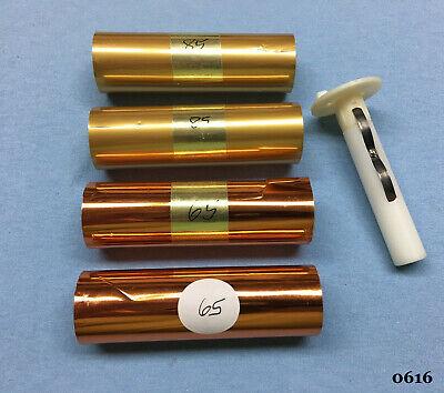 Kingsley Machine - 4 Foil Rolls E-z Foil Adapter - Hot Foil Stamping Machine