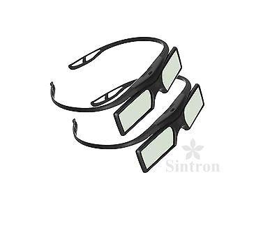 [Sintron] 2X 3D RF Active Glasses for US 2018 Sony 3D TV KDL-50W800C KDL-55W800C