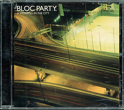 Bloc Party - A Weekend In The City (CD, 2007, Vice Records) Bonus Tracks](Party City In)