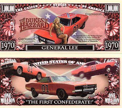 The Dukes of Hazzard TV Series Million Dollar Novelty Money