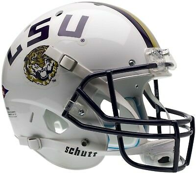 LSU TIGERS NCAA Schutt XP Full Size REPLICA Football Helmet ()