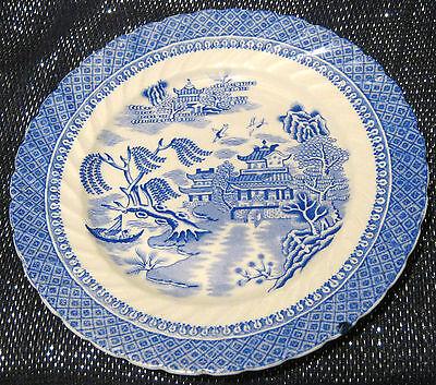 Cauldon Semi China tea plate Ching pattern approx 7 1/4 inches diameter