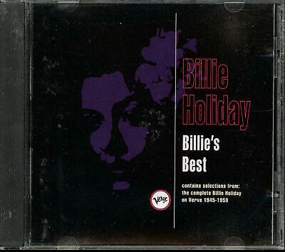 Billie Holiday - Billie's Best (CD, May-1992, Verve