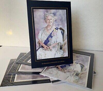6 No Prints of Queen Elizabeth Queen Mother by Ellingham New Unused