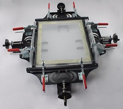 Screen Printing Manual Screen Mesh Stretcher 24x24 Plate Making Strech Tension