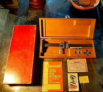Starrett Model 454-12 Vernier Height Gage-12