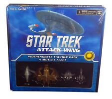 STAW, Star trek attack Wing, Independents Faction Pack Motley Fleet New
