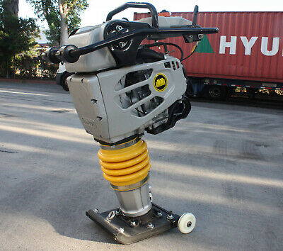 4.4hp Gas Power 149cc Rammer Tamper Jumping Jumper Jack Compactor 15600n Force