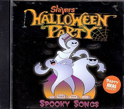 Shivers HALLOWEEN PARTY SPOOKY SONGS CLASSIC KIDS HALLOWEEN PARTY MUSIC & SOUNDS