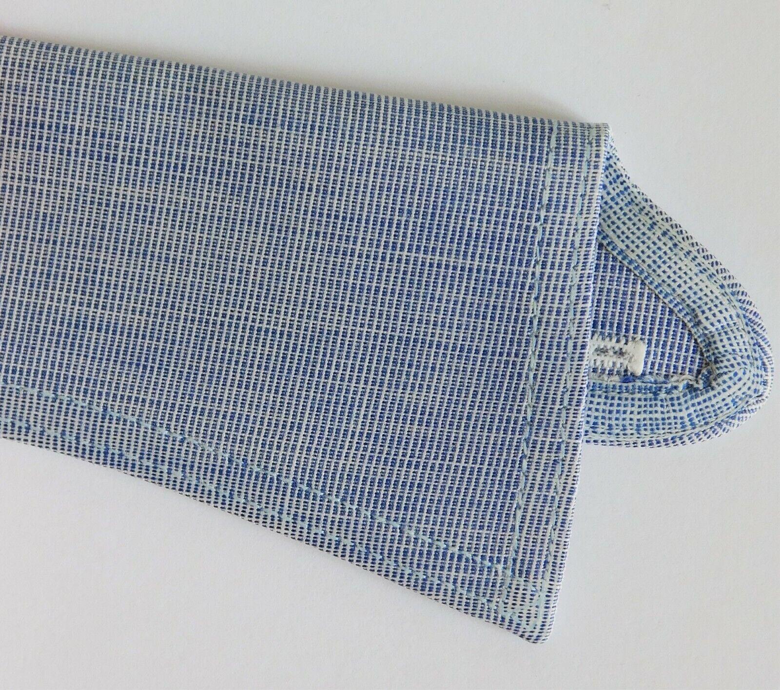 Radiac Rex RAF blue shirt collar size 18.5 UNUSED vintage detachable semi-stiff