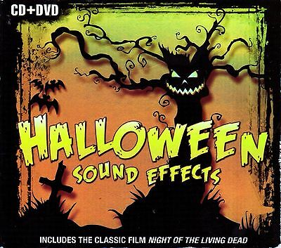 Halloween Horror Nights Sound Effects (HALLOWEEN SOUND EFFECTS CD 60 FX + BONUS HORROR CLASSIC NIGHT OF LIVING DEAD)