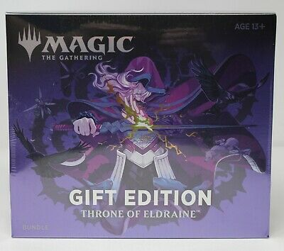 Throne of Eldraine Holiday Edition Gift Bundle Collector Booster MTG Magic