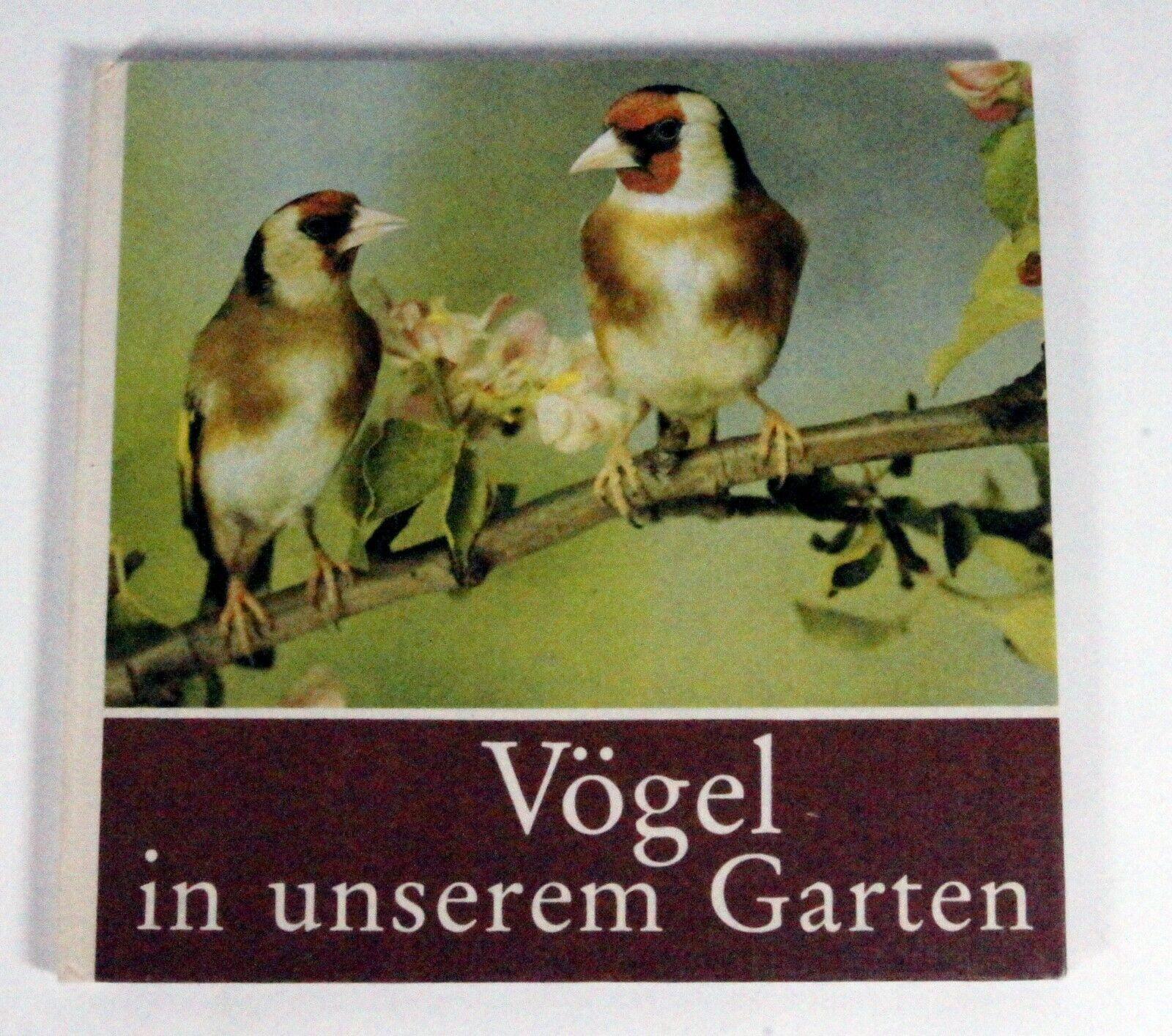 Kinderbuch Vögel in unserem Garten, Buch Kinder, Leipzig Verlag