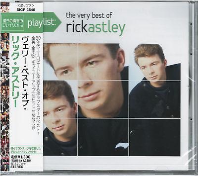 RICK ASTLEY-PLAYLIST: THE VERY BEST OF RICK ASTLEY-JAPAN CD (Playlist The Very Best Of Rick Astley)