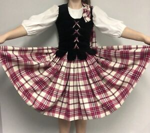 Highland dance nation outfit aboyne pink